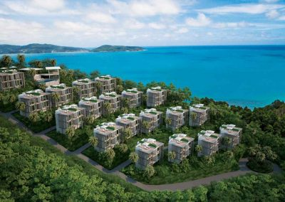 Club Unique Phuket Thailand Naka Sea View Condominium1