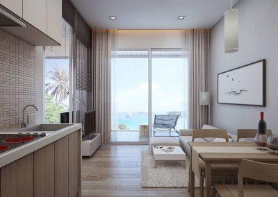 Club Unique Phuket Thailand Naka Sea View Condominium3