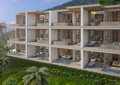 Club Unique Phuket Thailand Patong Bay Sea View Residence 1024 5