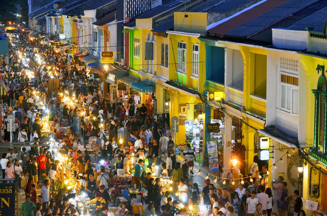 Club Unique Phuket Thailand Night Market In Phuket Town