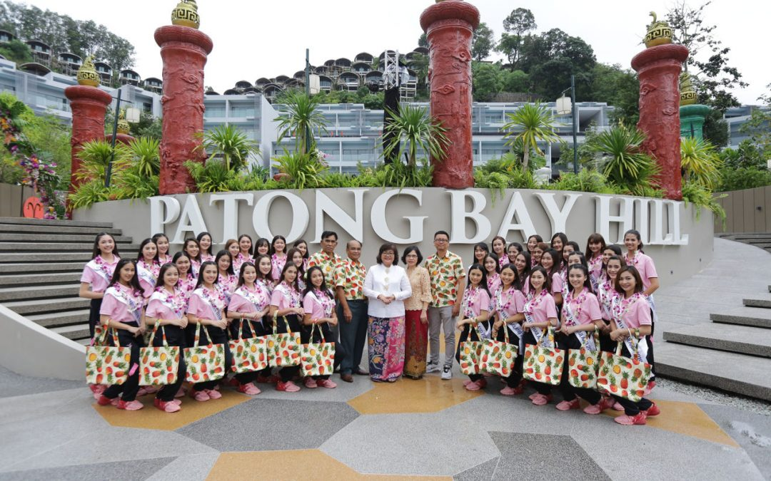 Miss Teen Thailand Contestants 2019 Stay with Us at Patong Bay Hill