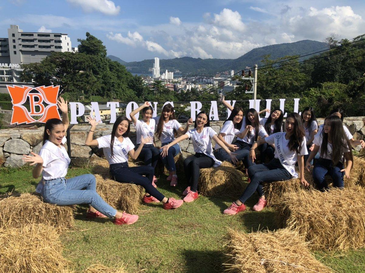 Miss Teen Thailand 2019 Photoshoot Patong Bay Hill