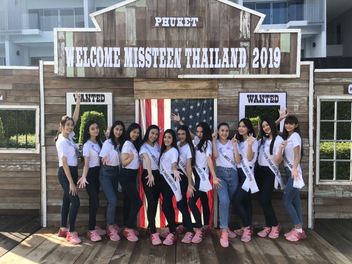 Welcome Miss Teen Thailand 2019
